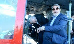 حضور وزیر کشور در مناطق سیلزده استان گلستان