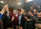 «بشار اسد» و همسرش با ماسک در دمشق +عکس