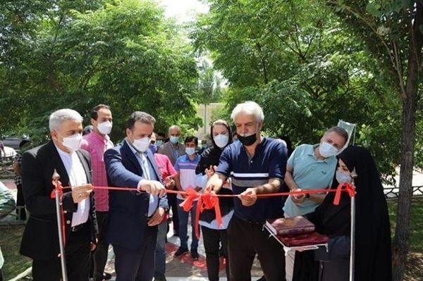 نخستین غرفه پسماند ، ورزش شهر تهران در منطقه 16 افتتاح شد