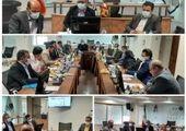 بازدید قائم مقام و هیات همراه از شعبه مسجد کبود تبریز