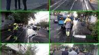 اجرای طرح چهارشنبه پاک در خیابان ایرانشهر