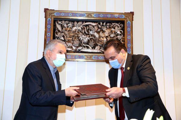امضا تفاهمنامه همکاری ورزشی بین دو کشور ایران و افغانستان