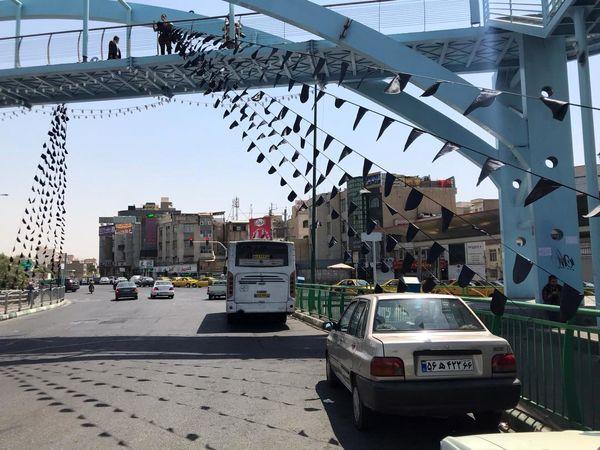 بهسازی  و آماده سازی بوستان های شمال شرق تهران برای عزاداران حسینی