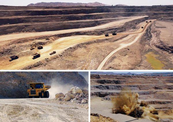 تولید حدود 1.2 میلیون تن سنگ آهن در شرکت صنایع و معادن ماهان سیرجان