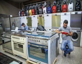 گردش مالی 6 میلیارد دلاری صنعت  لوازم خانگی ایرانی در سال 99