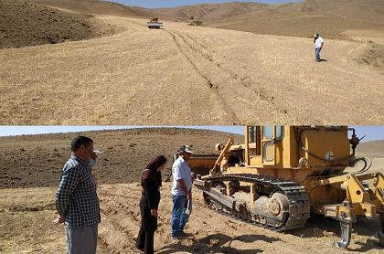 طرح بکارگیری زیر شکن در سطح بیست هکتار از اراضی مزارع شهرستان شازند