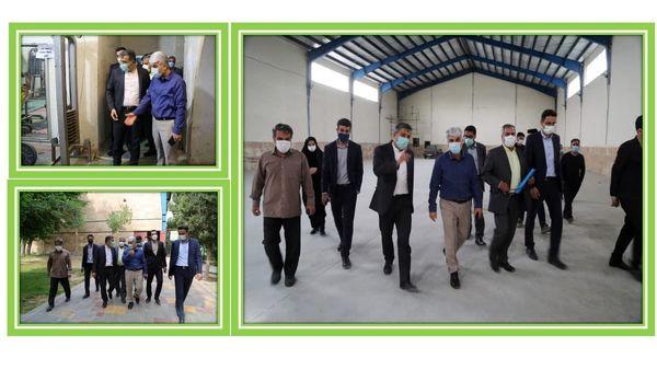 بازدید مدیرعامل سازمان ورزش شهرداری تهران از پروژه مجموعه چند منظوره ورزشی مظاهری