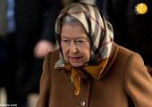 پوشش متفاوت ملکه انگلیس در مسابقات بینالمللی سوارکاری+ عکس