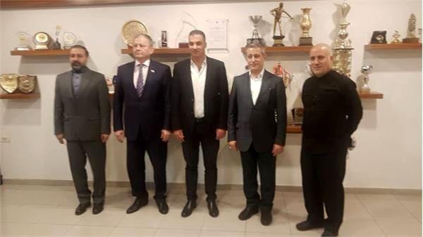 دیدار دکتر سعیدی با رئیس کمیسیون فرهنگی ورزشی جوانان و توریسم مجلس دومای روسیه