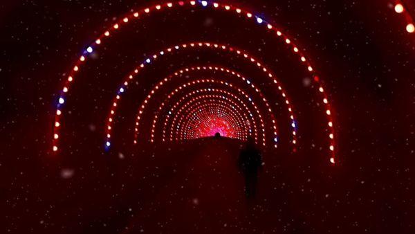 اجرای  بزرگترین تونل نوری  کشور  در بوستان نهج البلاغه