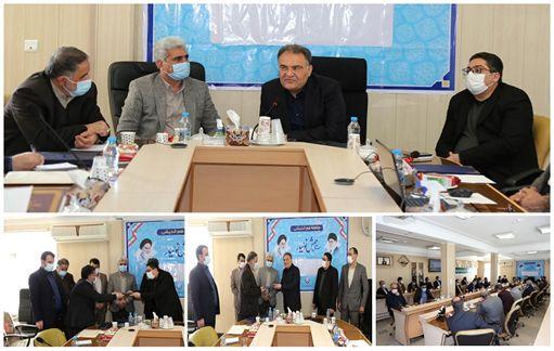 مدیر دفتر حراست و امور محرمانه شرکت آب و فاضلاب استان مرکزی معرفی شد