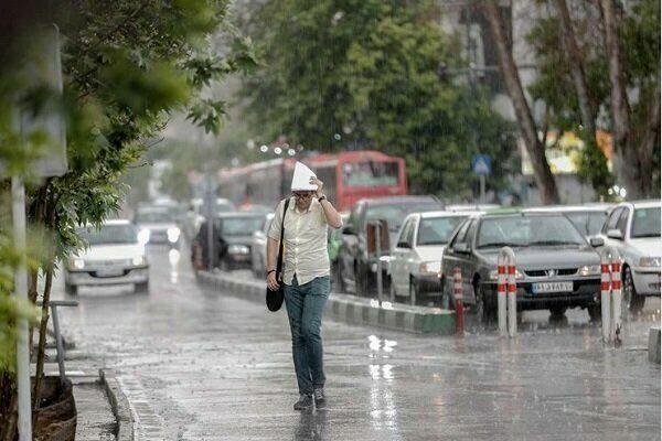 رفع آبگرفتگی در اکثر مناطق شهر تهران