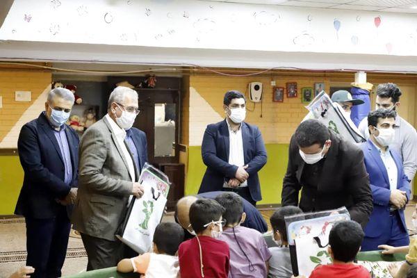 تکریم کودکان بی سرپرست و بدسرپرست به همت شهرداری منطقه 16