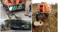 بیش از 600 کیلومتر شبکه جمع آوری فاضلاب در اراک شستشو شد