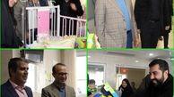 بازدید از کودکان بستری در بیمارستان از سوی مدیرعامل شرکت شهرسالم