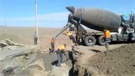 اجرا و بهره برداری از چهارمین پل آبنمای لوله ای درسطح محورهای روستایی استان قم