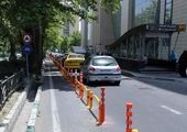 احداث و تکمیل مسیر دوچرخه در بزرگراه شهید همت