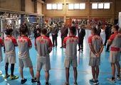 بازدید رئیس کمیته ملی المپیک از تمرینات تیم بوکس جوانان