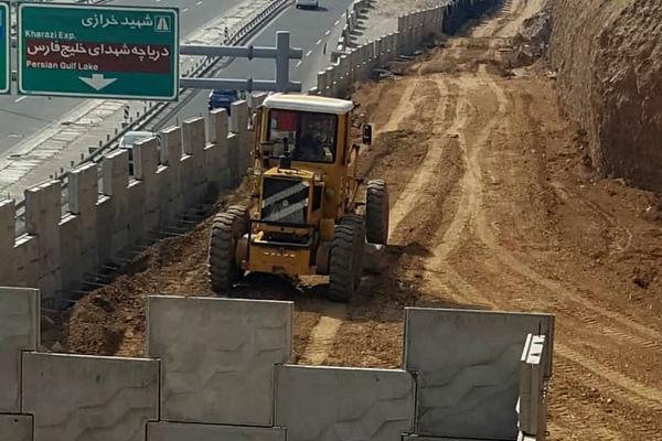 ادامه تلاش ها برای تکمیل مسیرهای دسترسی بزرگراه شهید همدانی