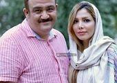 مهران غفوریان و دخترش در کنار عموپورنگ+عکس
