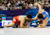 صعود ۴ آزادکار ایران به نیمه نهایی کشتی قهرمانی آسیا