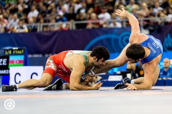 صعود امامی و کریمی به نیمه نهایی کشتی آزاد قهرمانی جهان