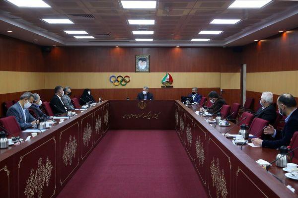 شصتمین نشست هیات اجرایی کمیته ملی المپیک برگزار شد
