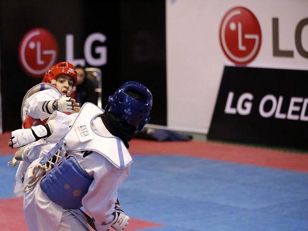 برگزاری مسابقات تکواندو قهرمانی کشور، با حمایت ال جی