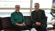 خالق بنای یادمان گفتگوی تمدن ها با مدیرعامل برج میلاد دیدار کرد