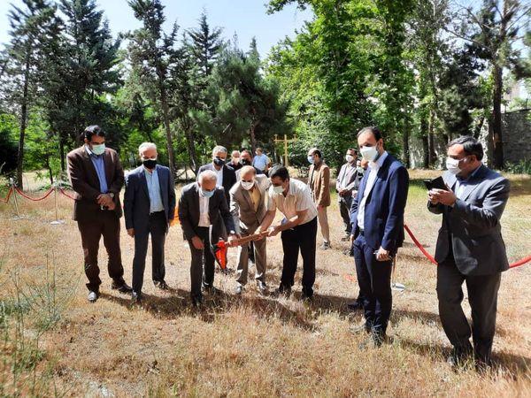 عملیات عمرانی ساخت مخزن بتنی آب در محله آرارات آغاز شد