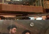 واکنش کاربران به «VIP نشینی»فرزند سیدحسن خمینی در یک هیئت + عکس