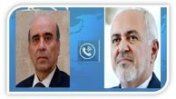 گفتگوی تلفنی وزیران خارجه ایران و لبنان
