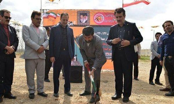 عملیات اجرایی 5 پروژه کلان برق بهبهان در استان خوزستان آغاز شد