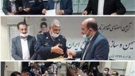 امضای تفاهمنامه همکاری میان بیمه میهن و خانه سرباز صلح ایران