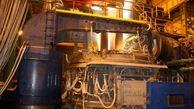 ثبت رکورد جدید تولید شمش فولادی در مجتمع فولاد صنعت بناب