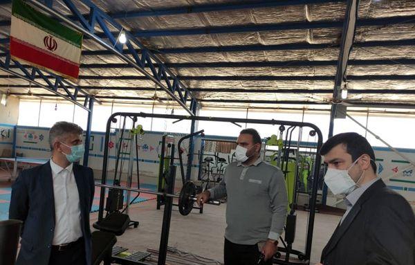 با حضور هیات رئیسه دانشگاه از تجهیزات جدید سالن ورزشی شهید شهریاری رونمایی شد