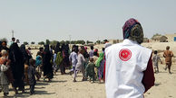 توزیع لوازم التحریر و سبد کالای افق کوروش در روستاهای صعب العبور بلوچستان