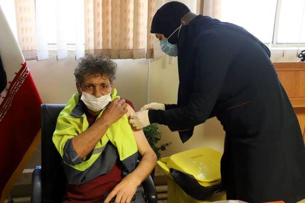 آغاز واکسیناسیون پاکبانان های شهرداری منطقه 3