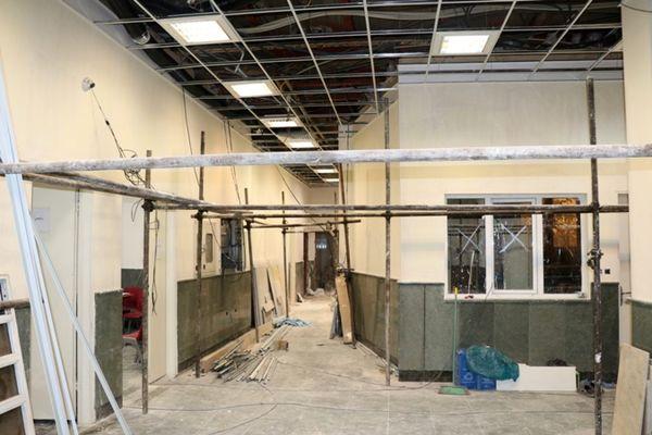 پیشرفت فیزیکی درمانگاه منطقه9 از مرز 80 درصد گذشت