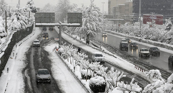 ادامه بارش برف تا سه روز آینده