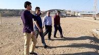 بازدید نماینده AFC از ورزشگاه پلدختر