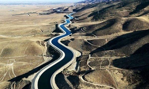 آب شیرین خلیج فارس به استان یزد رسید