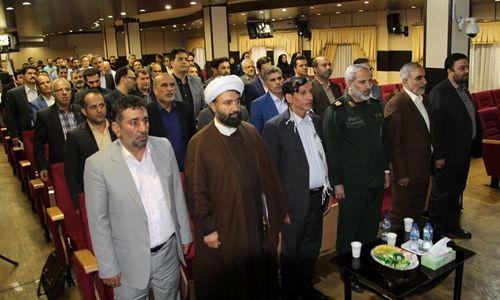 مراسم گرامیداشت هفته دفاع مقدس در پستبانکایران برگزارشد