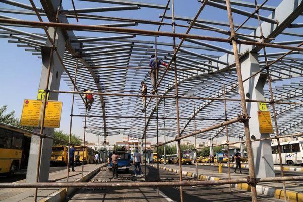 آغاز عملیات مسقف سازی دومین پایانه بزرگ شهر تهران