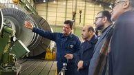 تاکید مدیرعامل شرکتبرق حرارتی بر ارتقای دانش فنی در شرکت تعمیرات نیروگاهی