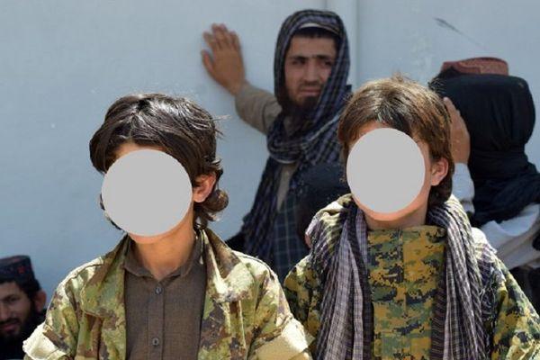 بهره کشی داعش از پسران خردسال در جوزجان + عکس