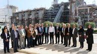 بازدید مدیران پژوهشگاه صنعت نفت از شرکت پتروشیمی پارس