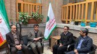 بازدید دکتر کشاورزیان عضو هیات مدیره پست بانک ایران از مدیریت شعب شهرستان های استان تهران