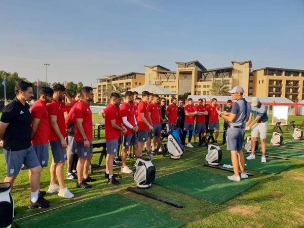 گزارش تصویری از برنامه تفریحی بازیکنان تیم ملی