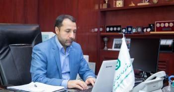 بازدید مجازی دکتر صالح آبادی از شعبه سنندج بانک توسعه صادرات ایران